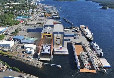 Alaska Ship & Drydock: current view & planned development