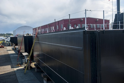 Breasting barges built in Tacoma