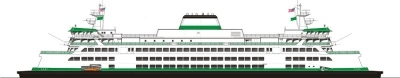 New 144-Car Washington State Ferry