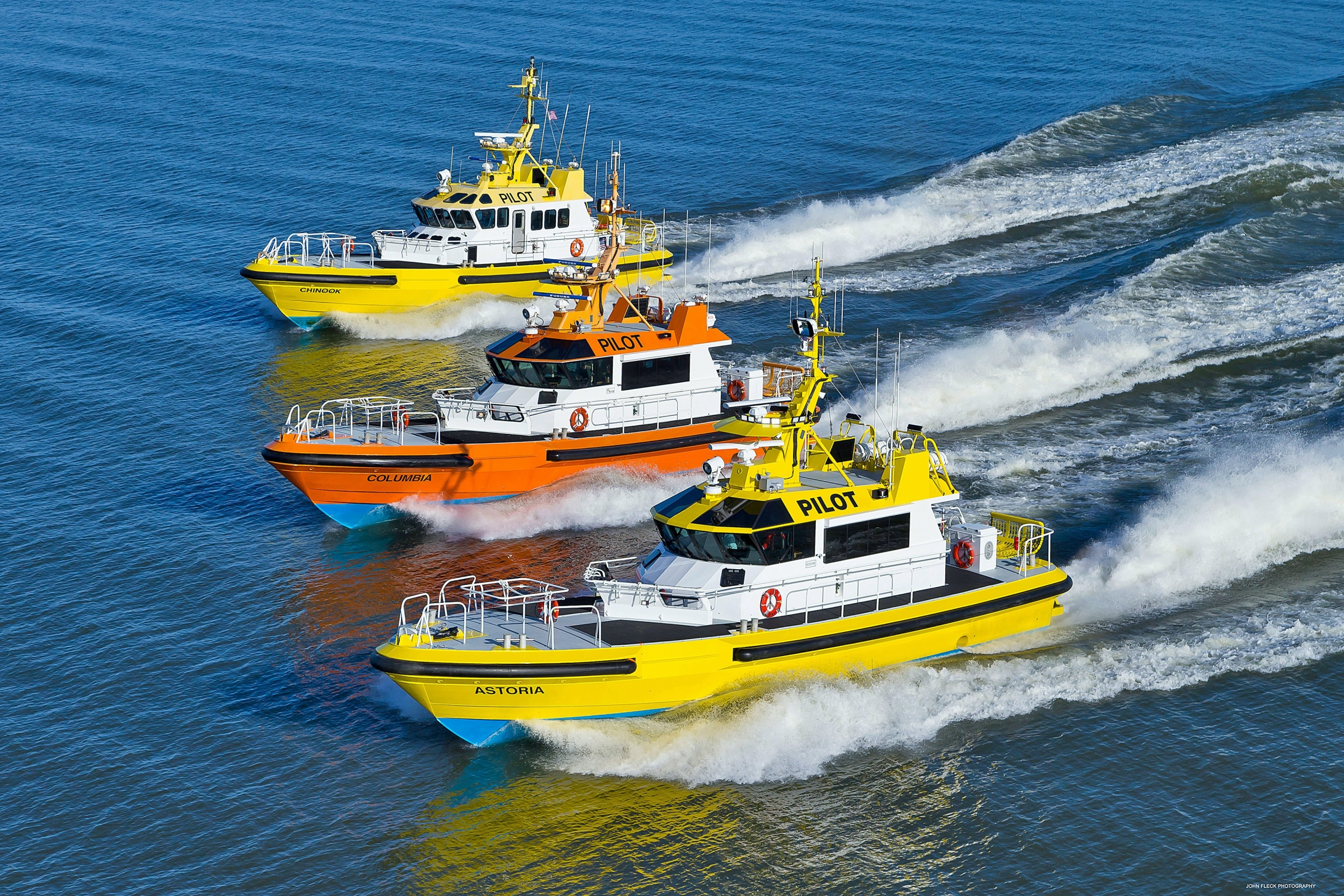 Three boats for Columbia River Bar Pilots