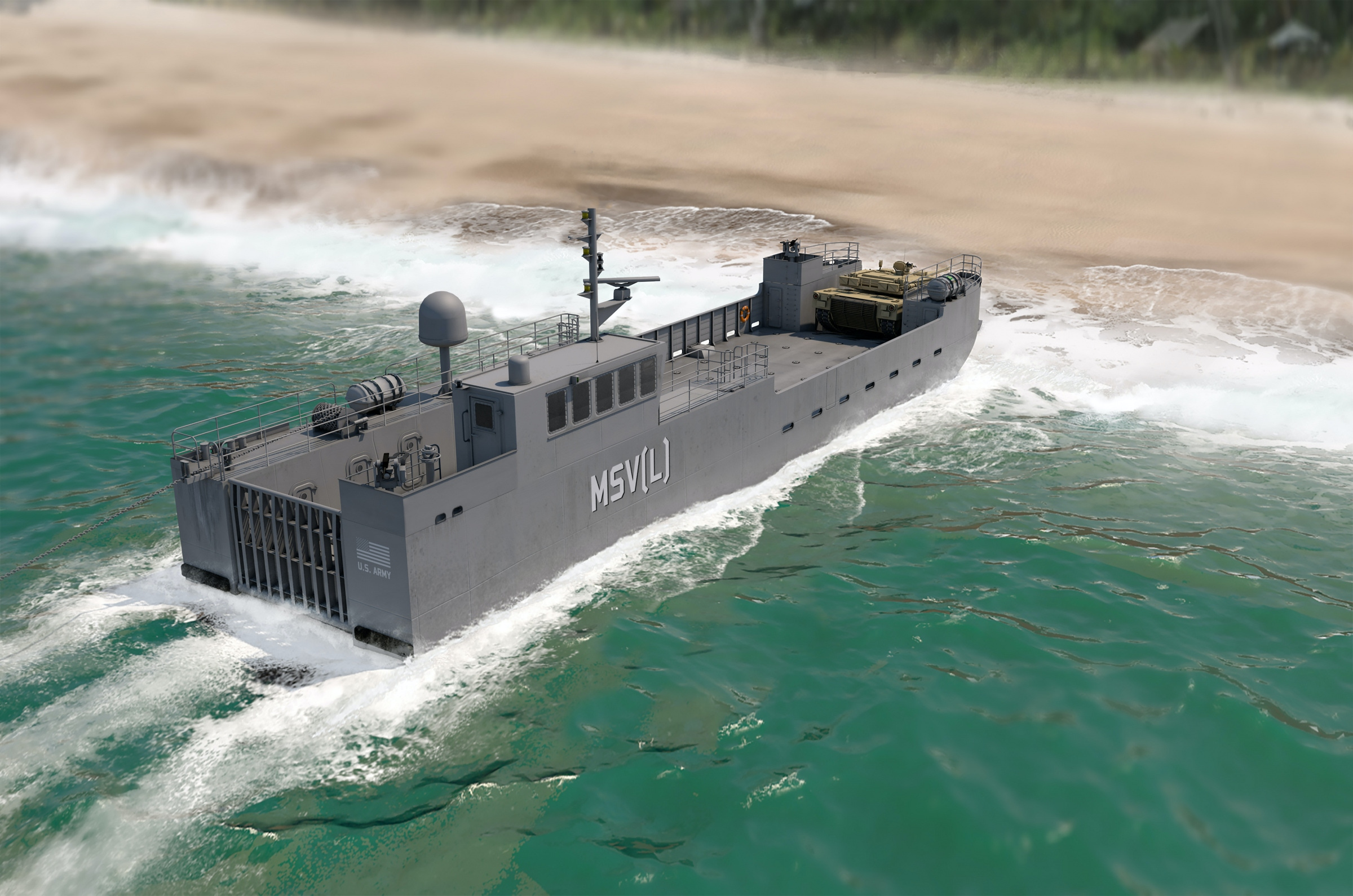 Maneuver Support Vessel (Light) | Vigor